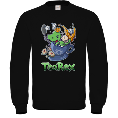 Motiv: Sweatshirt FAIR WEAR - Tea Rex