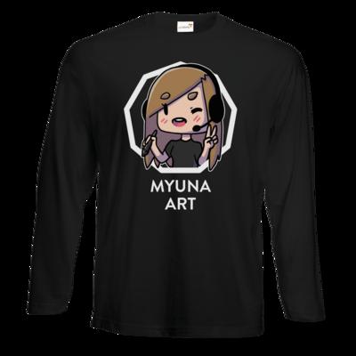 Motiv: Exact 190 Longsleeve FAIR WEAR - Myuna Art Logo