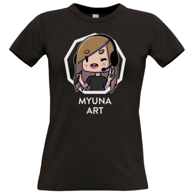 Motiv: T-Shirt Damen Premium FAIR WEAR - Myuna Art Logo