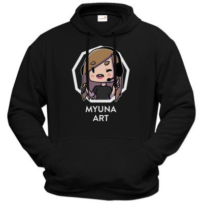 Motiv: Hoodie Premium FAIR WEAR - Myuna Art Logo