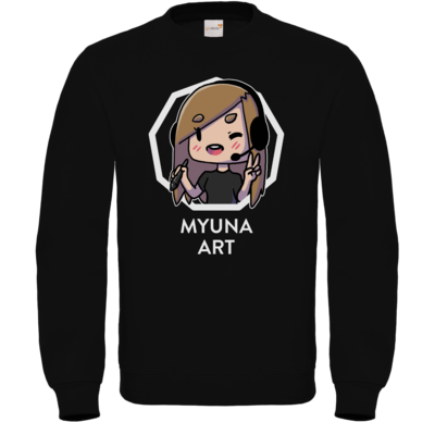 Motiv: Sweatshirt FAIR WEAR - Myuna Art Logo