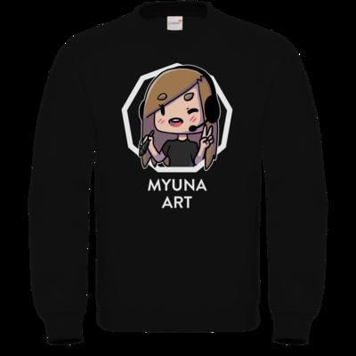 Motiv: Sweatshirt FAIR WEAR - Myuna Art Logo