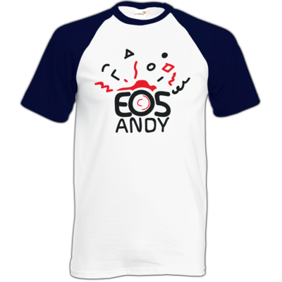 Motiv: Baseball-T FAIR WEAR - eosAndy Doodle Shirt Logo