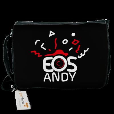 Motiv: Schultertasche - eosAndy Doodle Shirt Logo