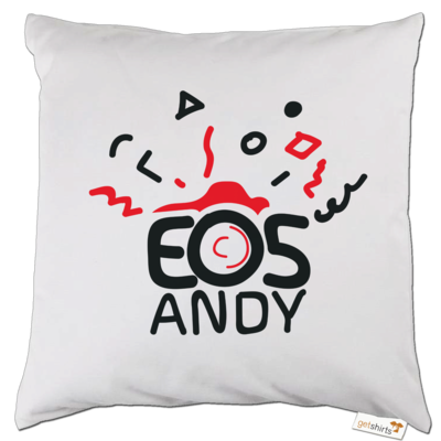 Motiv: Kissen - eosAndy Doodle Shirt Logo
