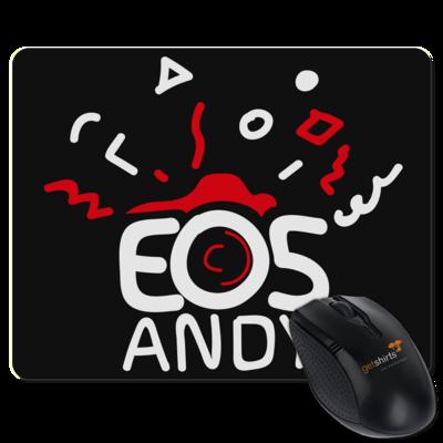 Motiv: Mousepad Textil - eosAndy Doodle Shirt Logo