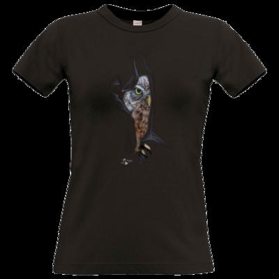 Motiv: T-Shirt Damen Premium FAIR WEAR - Poldinator dunkel