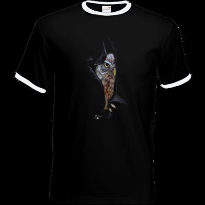 Motiv: T-Shirt Ringer - Poldinator dunkel