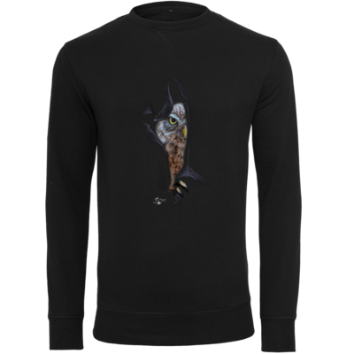 Motiv: Light Crew Sweatshirt - Poldinator dunkel