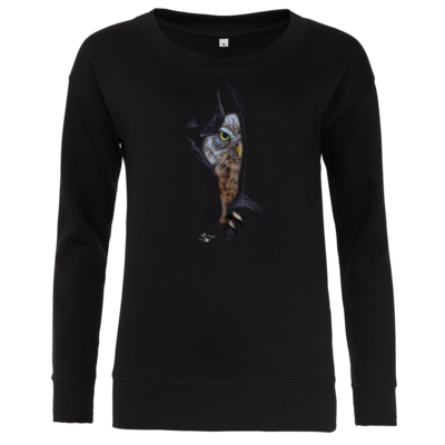 Motiv: Girlie Crew Sweatshirt - Poldinator dunkel