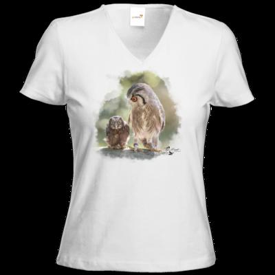 Motiv: T-Shirt Damen V-Neck Classic - Lenni