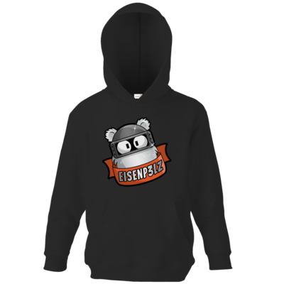 Motiv: Kids Hooded Sweat - Eisenp3lz - Logo