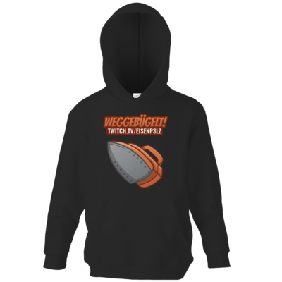 Motiv: Kids Hooded Sweat - Weggebügelt