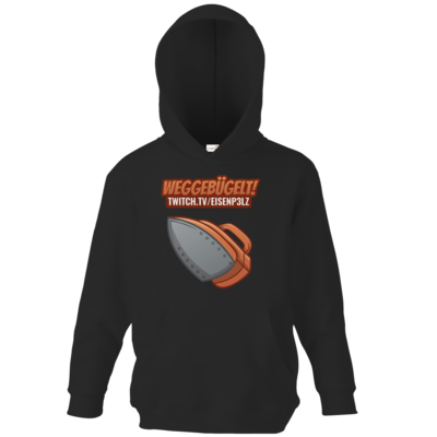 Motiv: Kids Hooded Sweat - Eisenp3lz - Weggebügelt