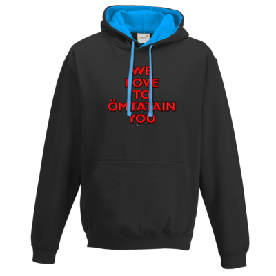 Motiv: Two-Tone Hoodie - Ömtatain you