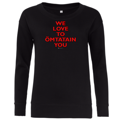 Motiv: Girlie Crew Sweatshirt - Ömtatain you