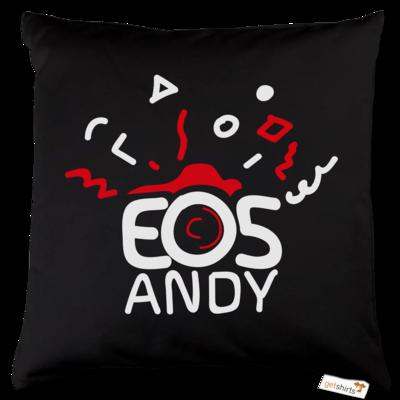 Motiv: Kissen Baumwolle - eosAndy Doodle Shirt Logo