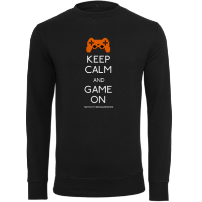 Motiv: Light Crew Sweatshirt - Keep Calm Game On