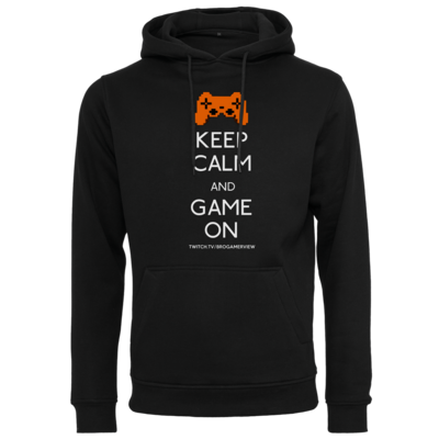 Motiv: Heavy Hoodie - Keep Calm Game On