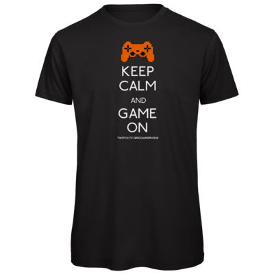 Motiv: Organic T-Shirt - Keep Calm Game On