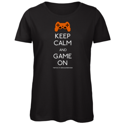 Motiv: Organic Lady T-Shirt - Keep Calm Game On