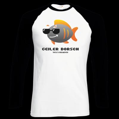 Motiv: Longsleeve Baseball T - Geiler Dorsch