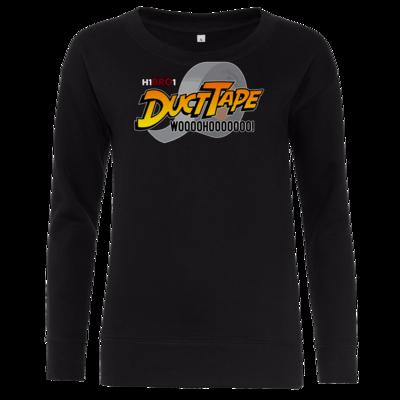 Motiv: Girlie Crew Sweatshirt - DuctTape