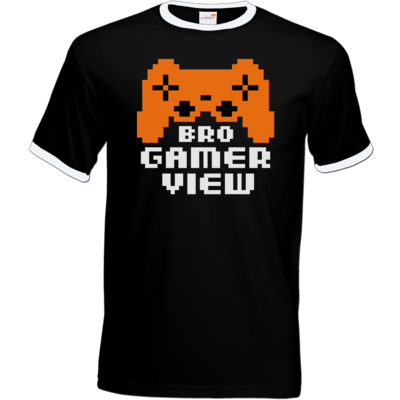 Motiv: T-Shirt Ringer - Logo BGV
