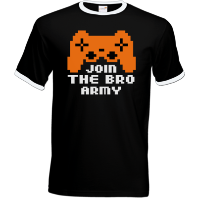 Motiv: T-Shirt Ringer - Join the Bro Army
