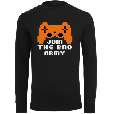 Motiv: Light Crew Sweatshirt - Join the Bro Army