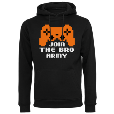 Motiv: Heavy Hoodie - Join the Bro Army