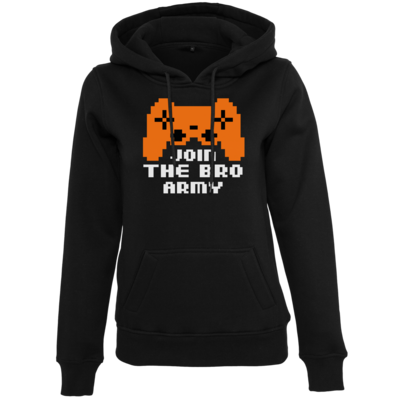 Motiv: Womens Heavy Hoody - Join the Bro Army