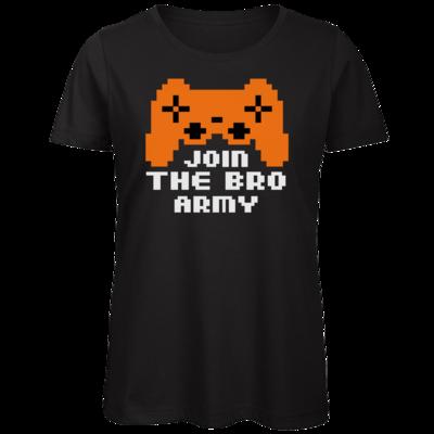 Motiv: Organic Lady T-Shirt - Join the Bro Army