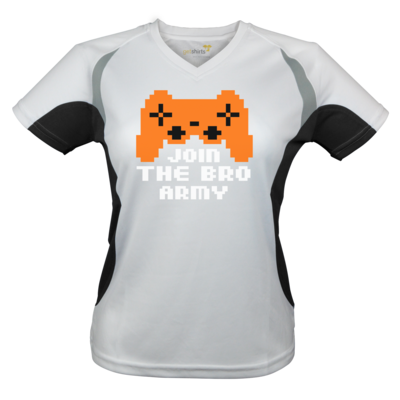 Motiv: Laufshirt Lady Running T - Join the Bro Army