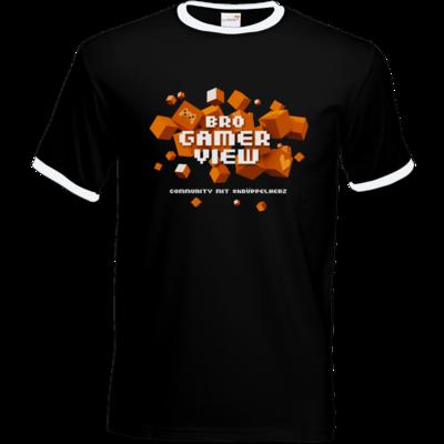 Motiv: T-Shirt Ringer - Cubes