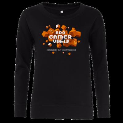 Motiv: Girlie Crew Sweatshirt - Cubes