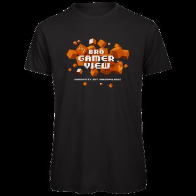 Motiv: Organic T-Shirt - Cubes