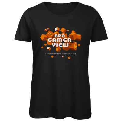 Motiv: Organic Lady T-Shirt - Cubes