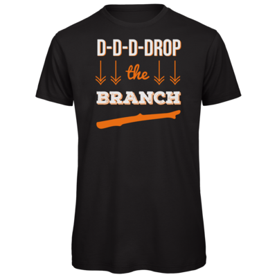Motiv: Organic T-Shirt - Drop the Branch