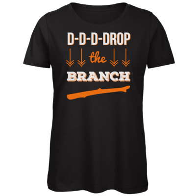 Motiv: Organic Lady T-Shirt - Drop the Branch