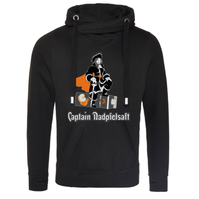 Motiv: Cross Neck Hoodie - Captain Nadpfelsaft