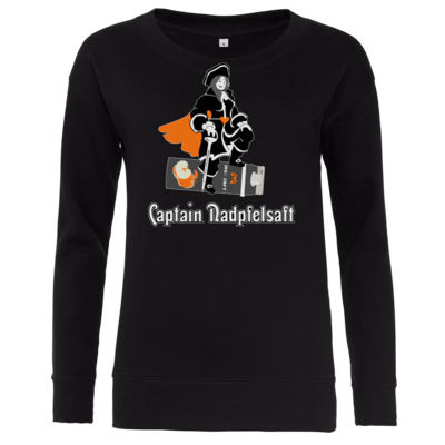 Motiv: Girlie Crew Sweatshirt - Captain Nadpfelsaft