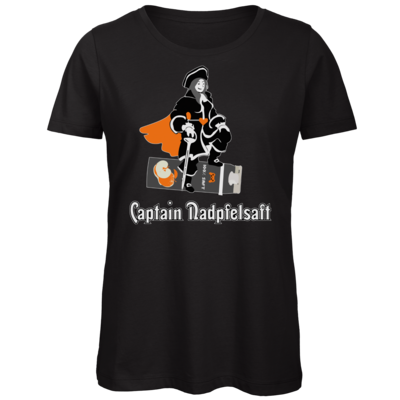Motiv: Organic Lady T-Shirt - Captain Nadpfelsaft