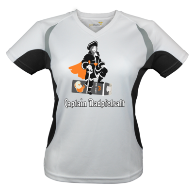 Motiv: Laufshirt Lady Running T - Captain Nadpfelsaft