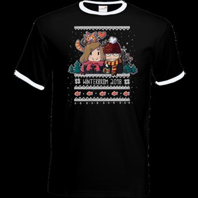Motiv: T-Shirt Ringer - Winterbrom 2018