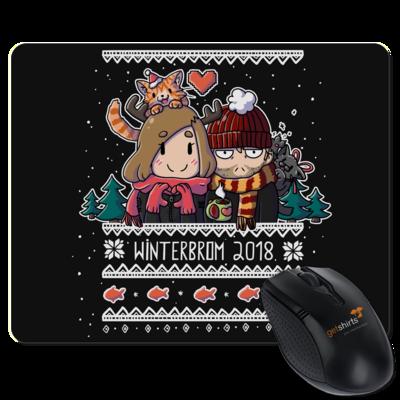 Motiv: Mousepad Textil - Winterbrom 2018