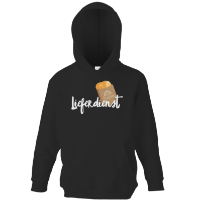 Motiv: Kids Hooded Sweat - Lieferdienst