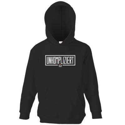 Motiv: Kids Hooded Sweat - unkompliziert eosandy shirt