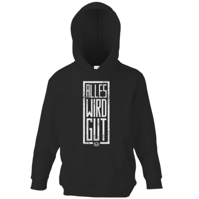 Motiv: Kids Hooded Sweat - alles-wird-gut eosAndy