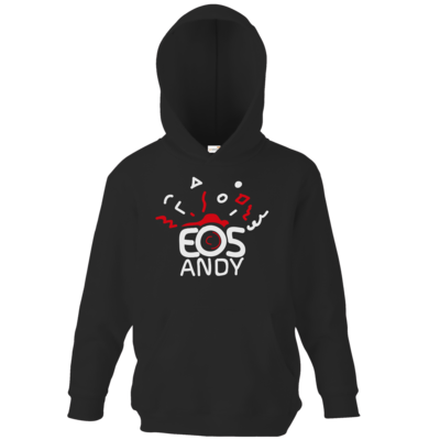 Motiv: Kids Hooded Sweat - eosAndy Doodle Shirt Logo
